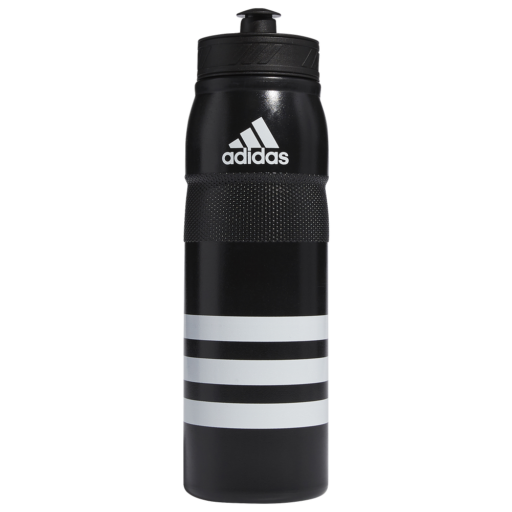 adidas Stadium Plastic Water Bottle / Black/White