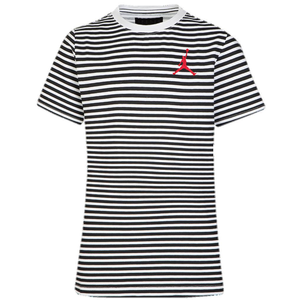 Jordan Aj Striped T Shirt by Foot Locker
