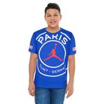 Jordan PSG Logo T-Shirt - Boys' Grade School