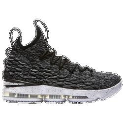 64ad78dadefe10 Lebron James Nike LeBron 15 - Mens - Black White