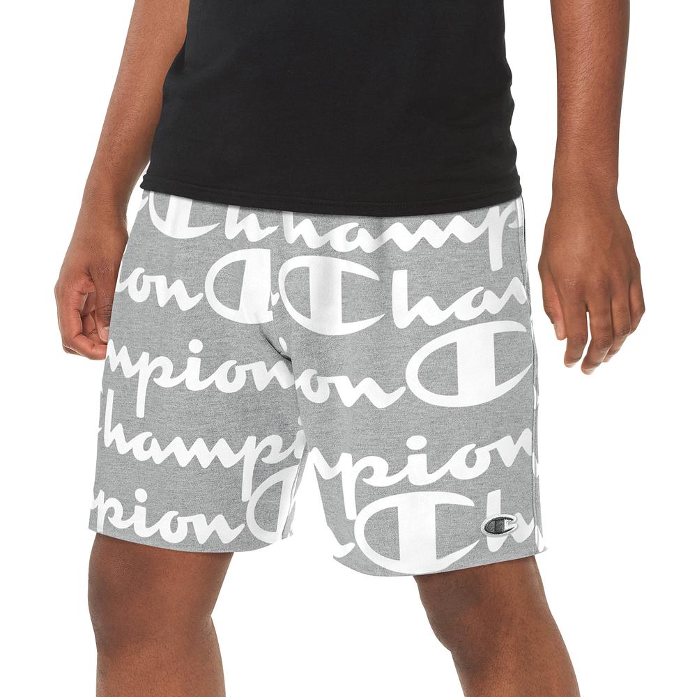 Champion Reverse Weave Cut Off Short - Mens / Oxford Gray