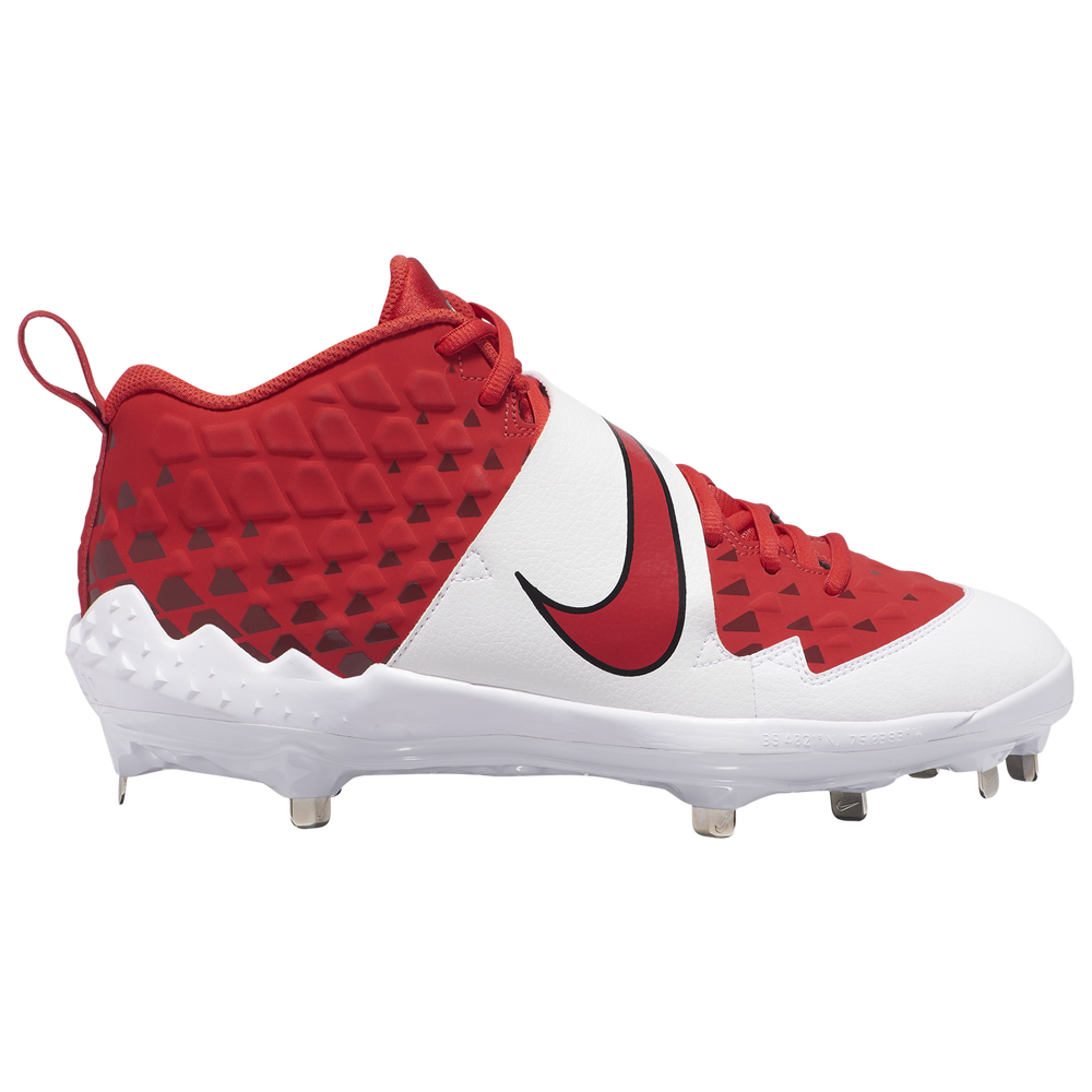 Nike Force Air Trout 6 Pro - Mens / University Red/White