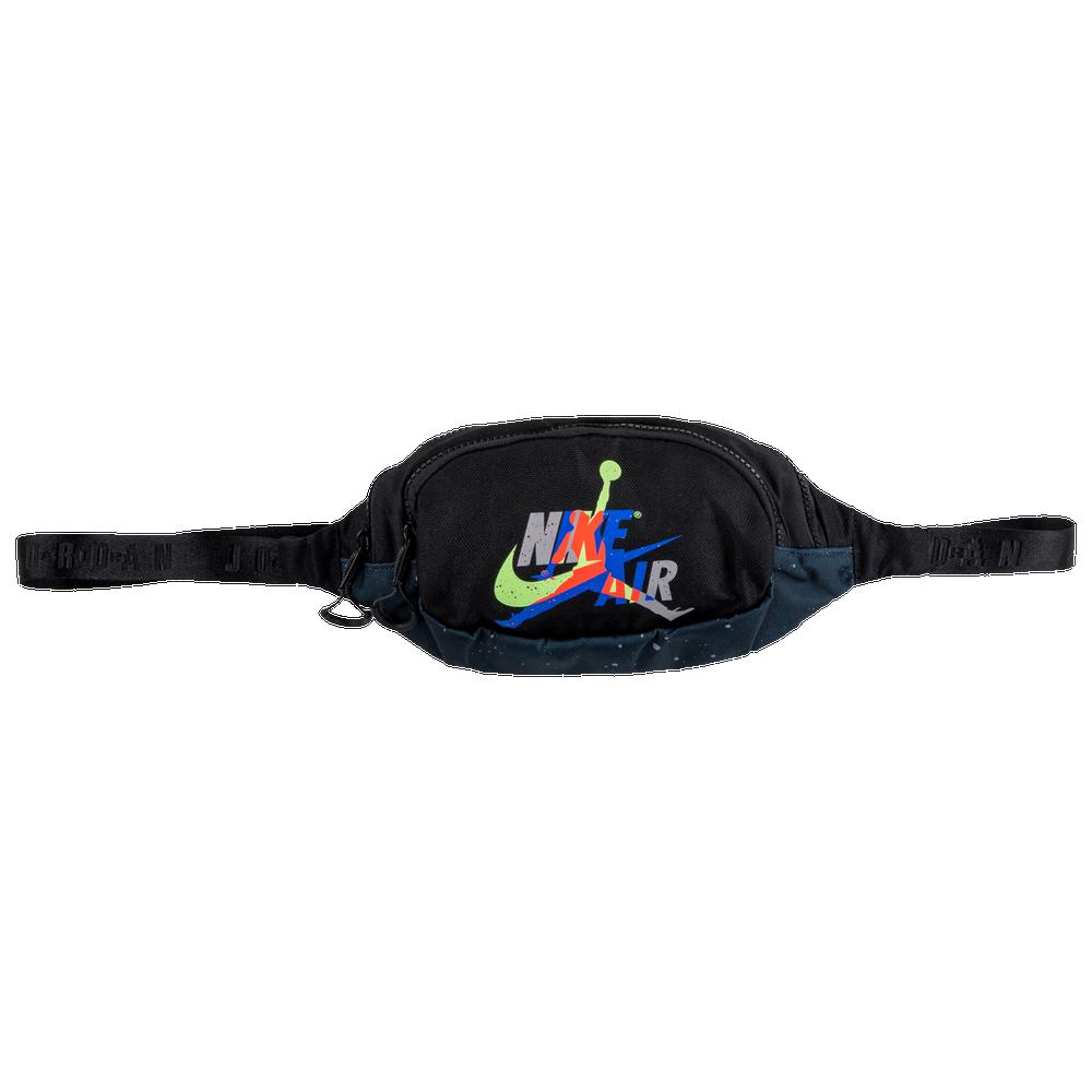Jordan Jumpman Classic Crossbody Bag / Black/Infrared/Atmospheric Grey
