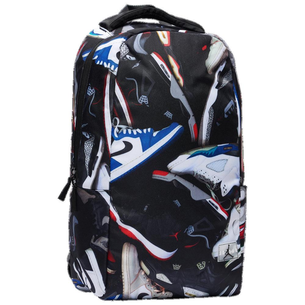 Jordan Graphics Backpack - Adult / Black/Multi