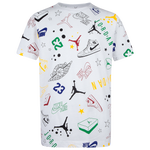 Jordan Scribble All Over Print T-Shirt - Boys' Grade School