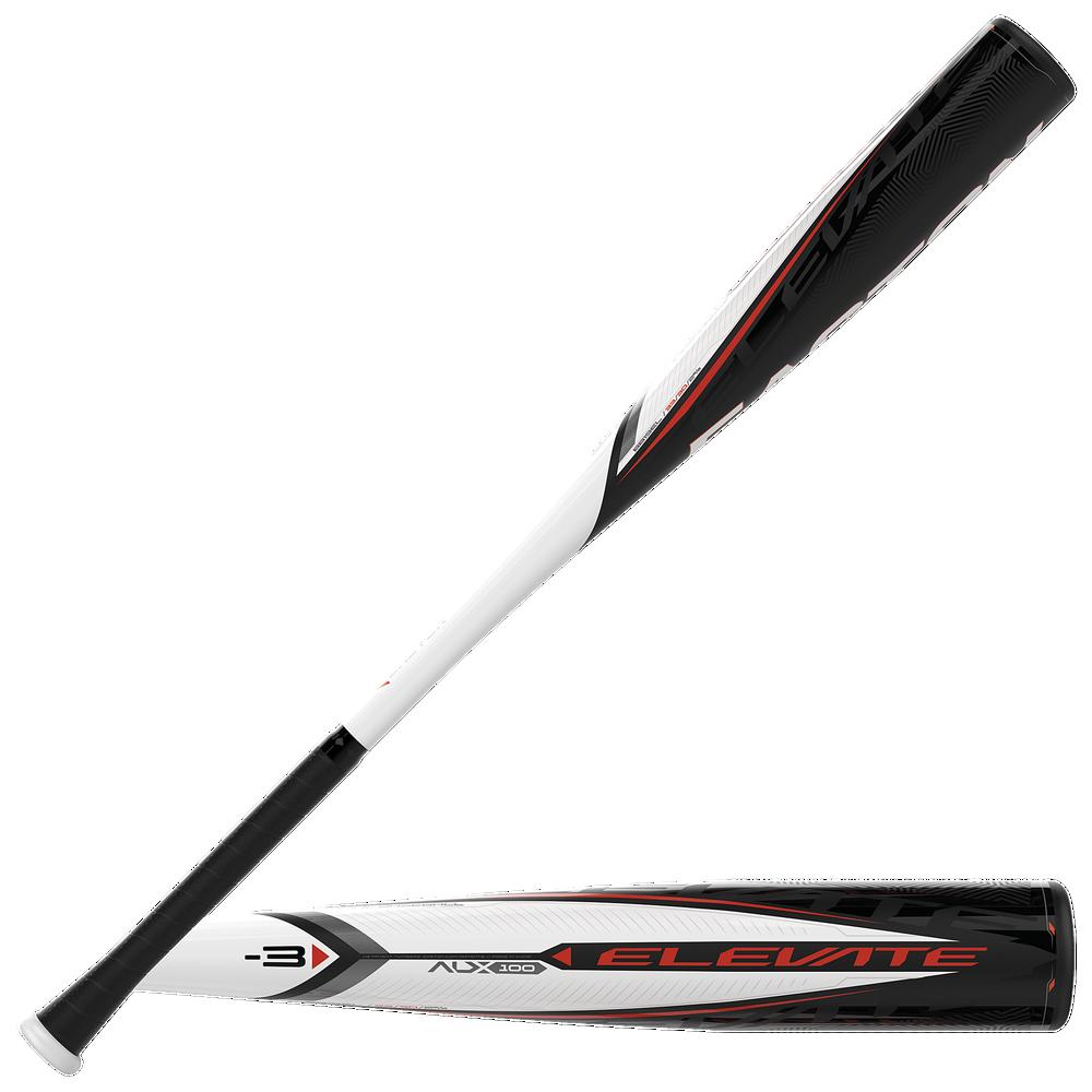 Easton BB19EL Elevate BBCOR Baseball Bat - Mens / White/Black   -3 oz / 2 5/8 Barrel