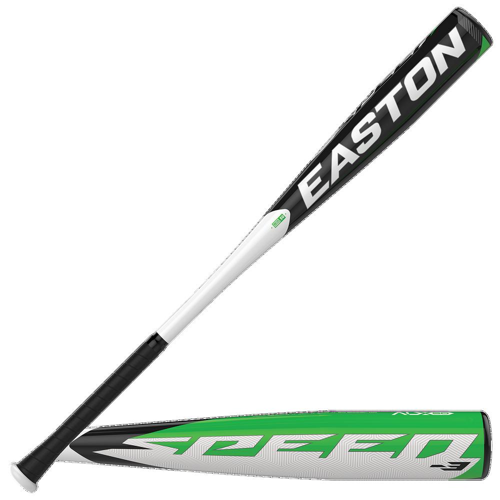 Easton BB19SPD Speed BBCOR Baseball Bat - Mens / White/Black   -3 oz / 2 5/8 Barrel
