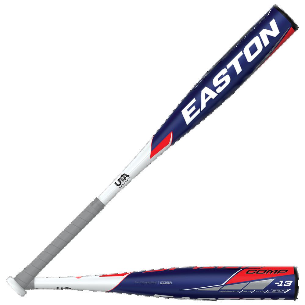 Easton YBB20SPC13SPEED COMP USA Baseball Bat - Mens / Black/White/Red   -13 oz / 2 5/8 Barrel