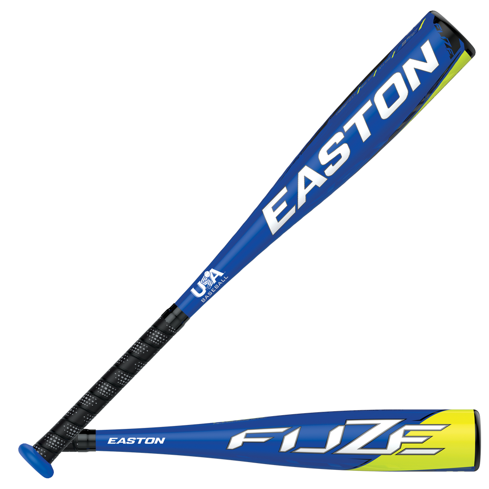 Easton TB20FZ11 FUZE USA Baseball Bat - Mens / Blue/Yellow   -11 oz / 2 5/8 Barrel