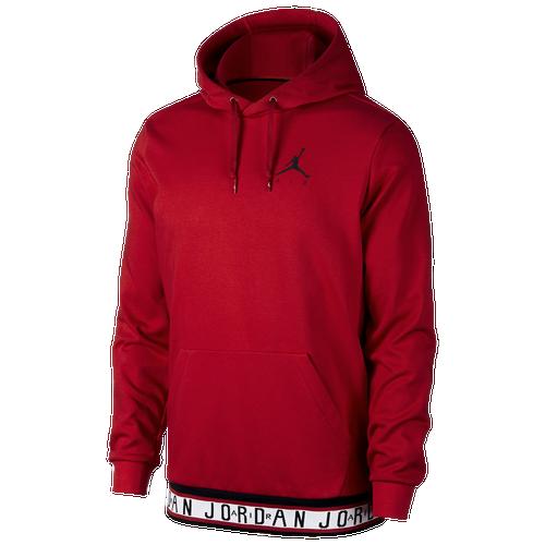 0ba748dcaff3c3 Jordan Jumpman Air HBR Hoodie - Mens - Gym Red Black (Clothing Basketball)