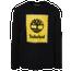 Timberland Box Logo L/S T-Shirt - Men's