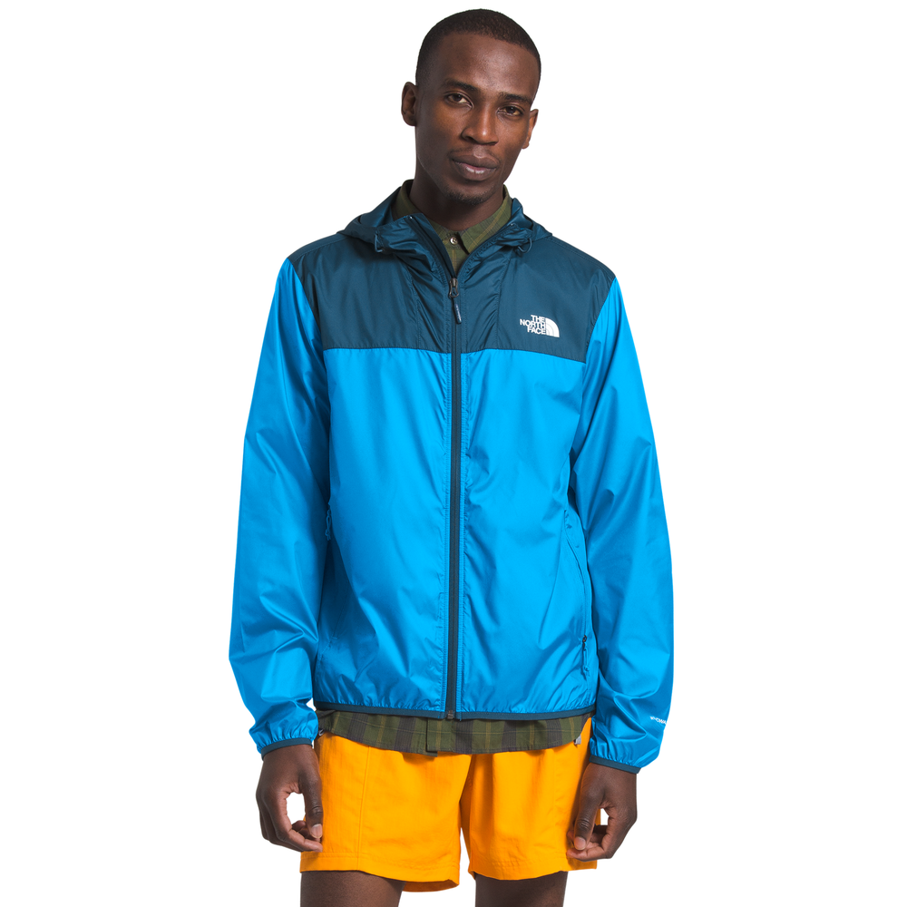 The North Face Cyclone 2 Wind Jacket - Mens / Blue Wing Teal/Clear Lake