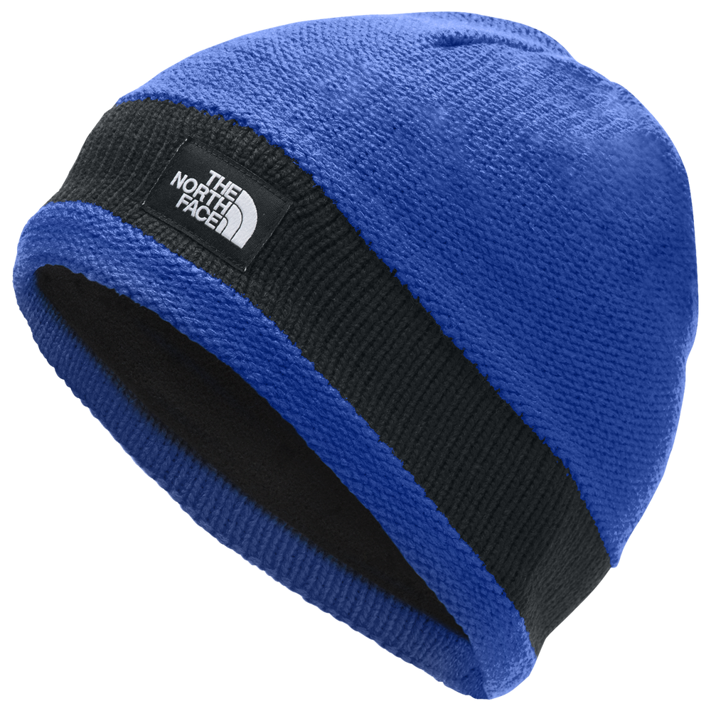 The North Face Logo Stripe Beanie - Mens / Tnf Blue/Tnf Black | Past Season Product