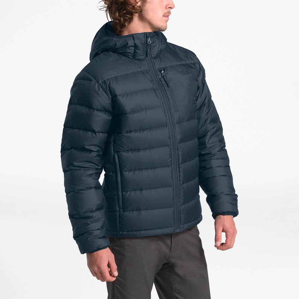 The North Face Aconcagua Hooded Jacket - Mens / Tnf Urban Navy | Past Season Product