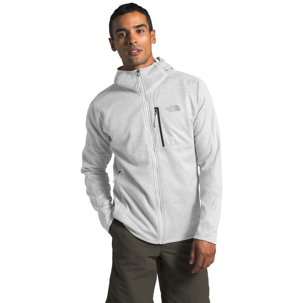 The North Face Canyonlands Full-Zip Hoodie - Mens / Tnf Light Grey Heather