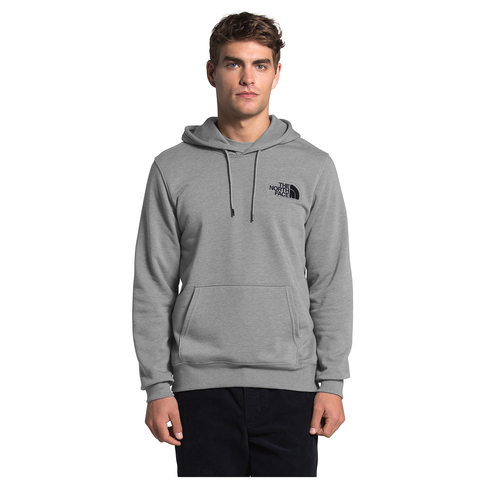 The North Face Patch Hoodie - Mens / Tnf Medium Grey Heather