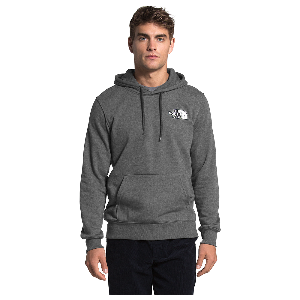 The North Face Patch Hoodie - Mens / Tnf Black Heather