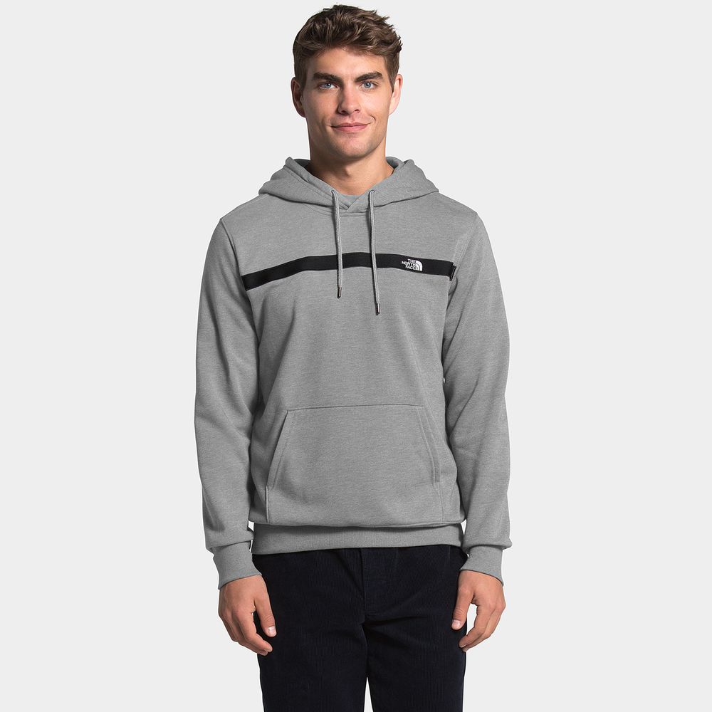The North Face Edge to Edge Hoodie - Mens / Tnf Medium Grey Heather/Black