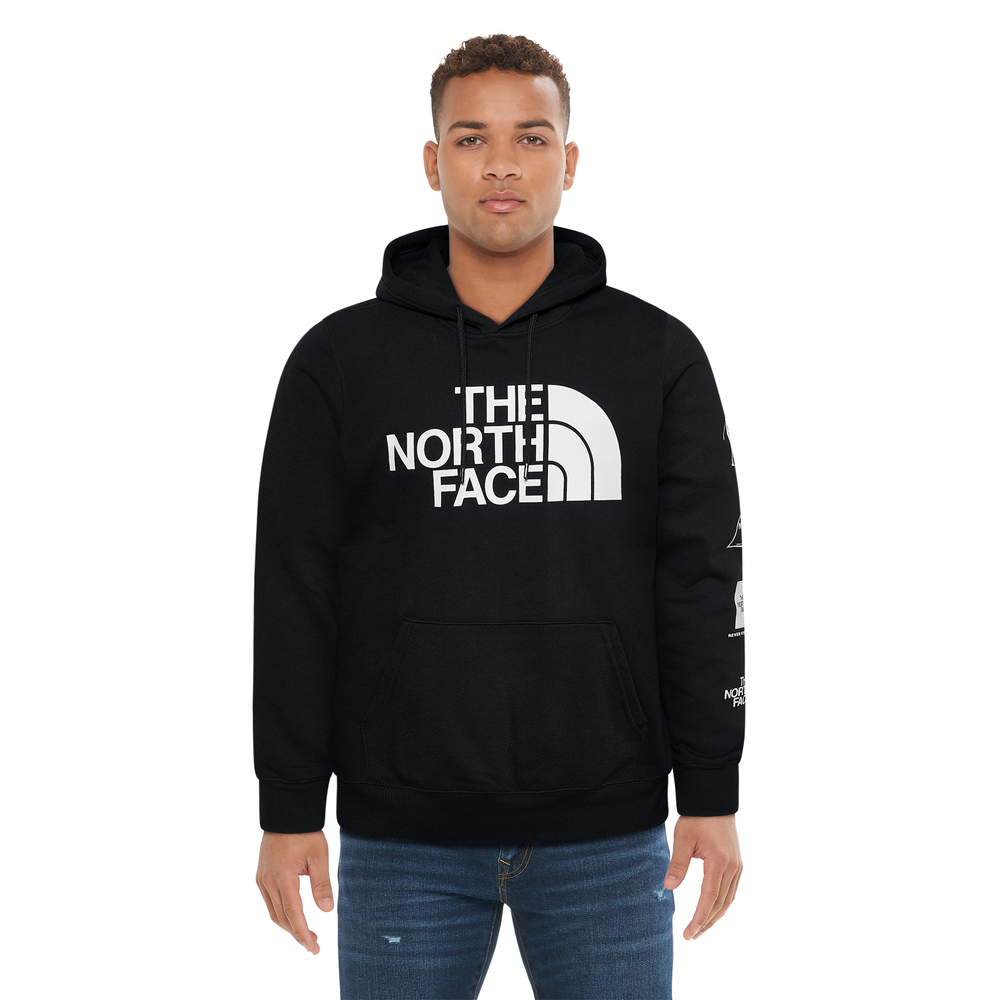 The North Face Half Dome Hoodie - Mens / Black/White