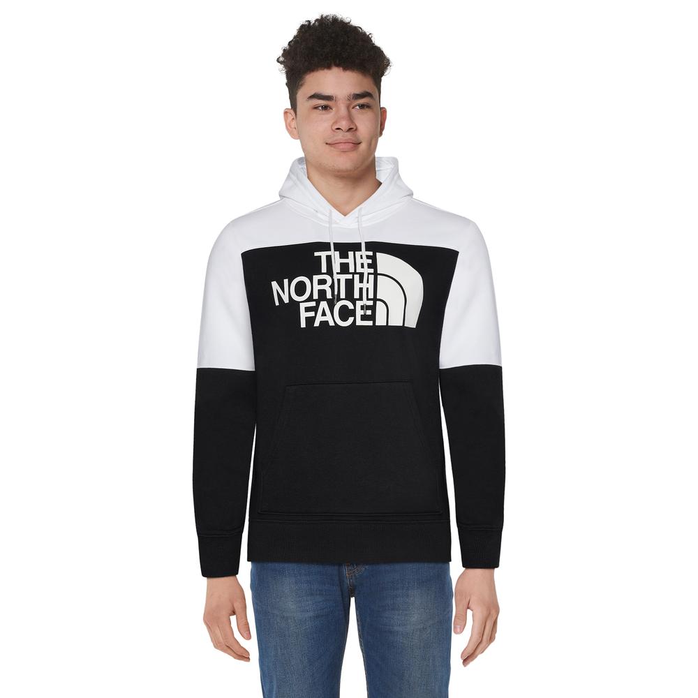 The North Face Drew Peak C/B Hoodie - Mens / Black/White