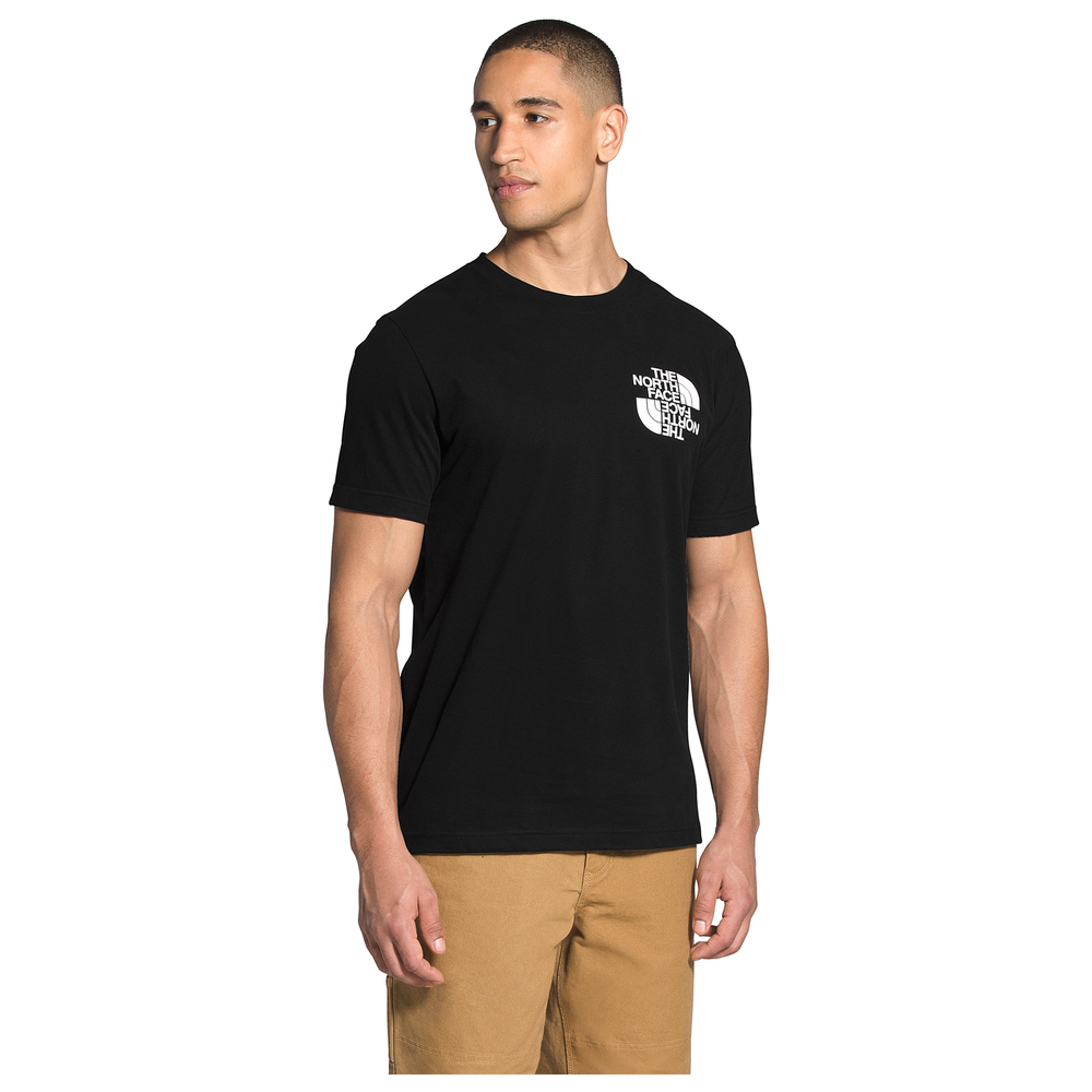 The North Face Double Dome T-Shirt - Mens / Tnf Black/White