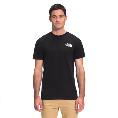 The North Face Cottons MENS THE NORTH FACE BOX NSE T-SHIRT