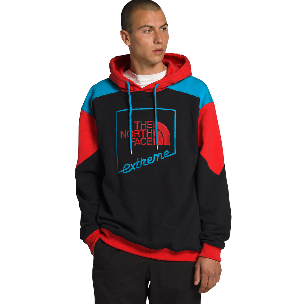 The North Face Extreme Hoodie - Mens / Black/Red