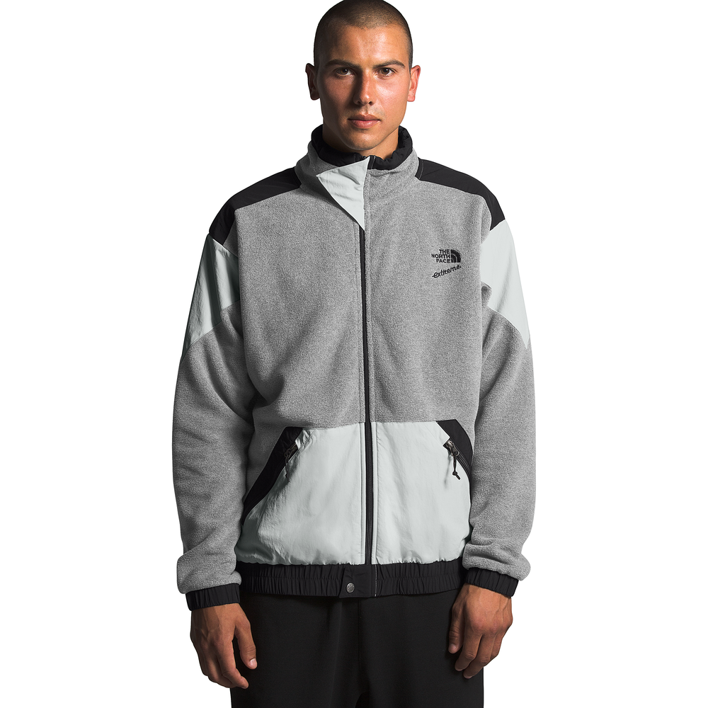 The North Face Extreme 2 Full-Zip Fleece Jacket - Mens / Grey/Black