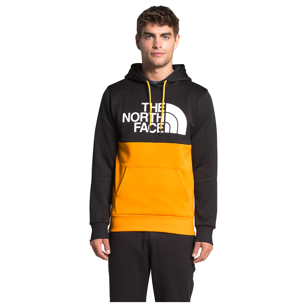 The North Face Surgent Bloc Hoodie - Mens / Tnf Black/Summit Gold