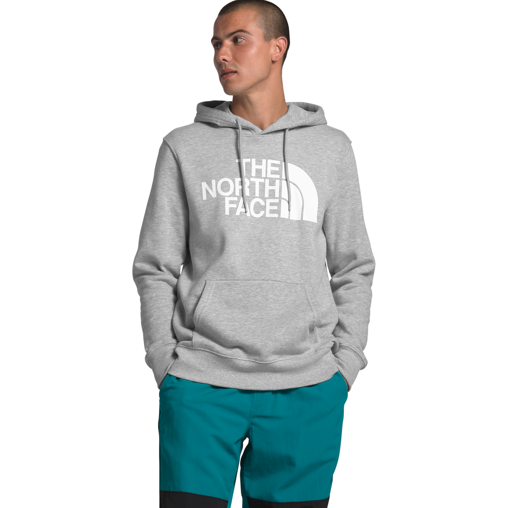 The North Face Half Dome Hoodie - Mens / Tnf Light Grey Heather/Tnf Black