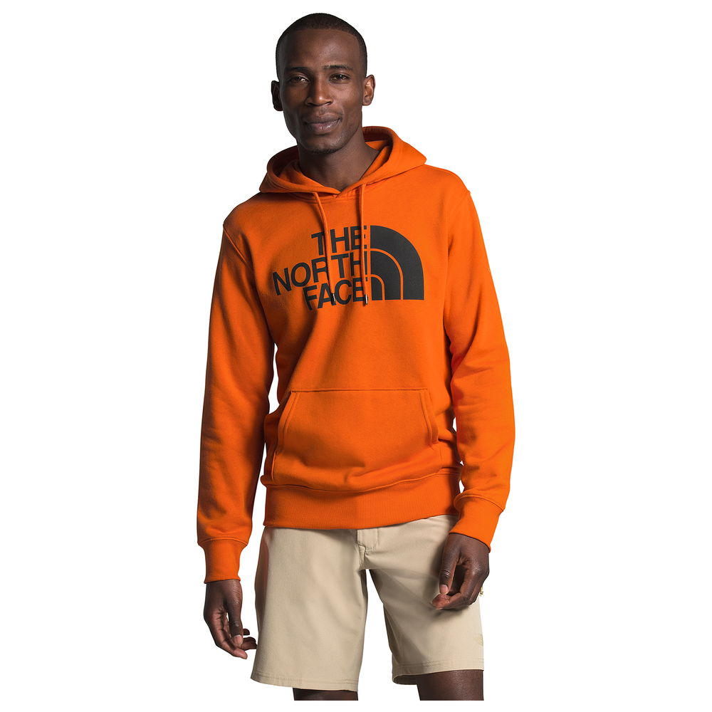 The North Face Half Dome Hoodie - Mens / Heritage Orange/Tnf Black