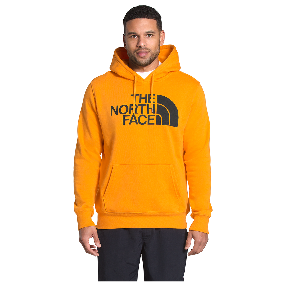 The North Face Half Dome Hoodie - Mens / Summit Gold/Tnf Black