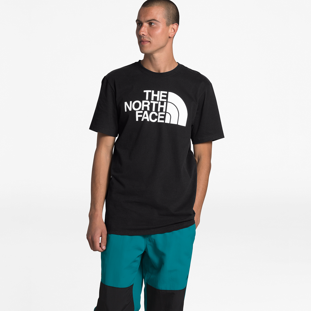 The North Face Half Dome T-Shirt - Mens / Black/Black