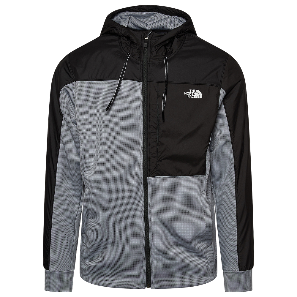 The North Face Essential Full-Zip Jacket - Mens / Grey/Black
