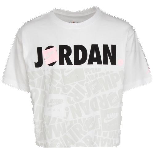 Jordan GIRLS JORDAN JUMPMAN FUN BLOCK T-SHIRT