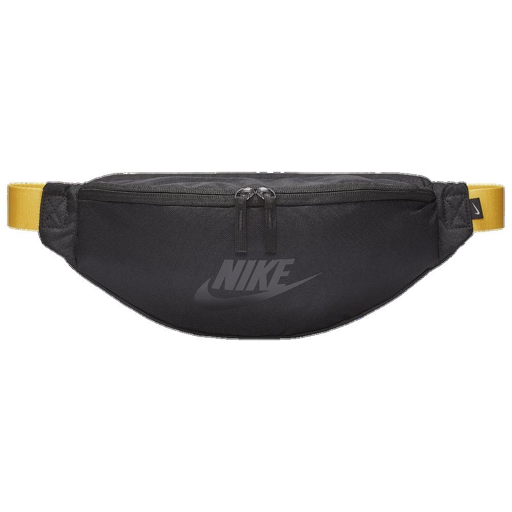 Nike Heritage Hip Pack / Black/Amarillo/Black Gloss