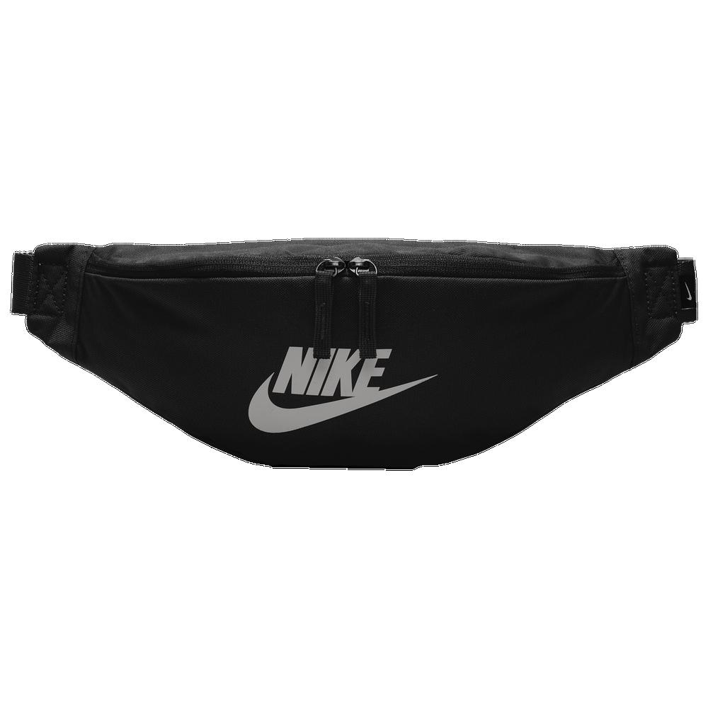 Nike Heritage Hip Pack / Black/Metallic Silver