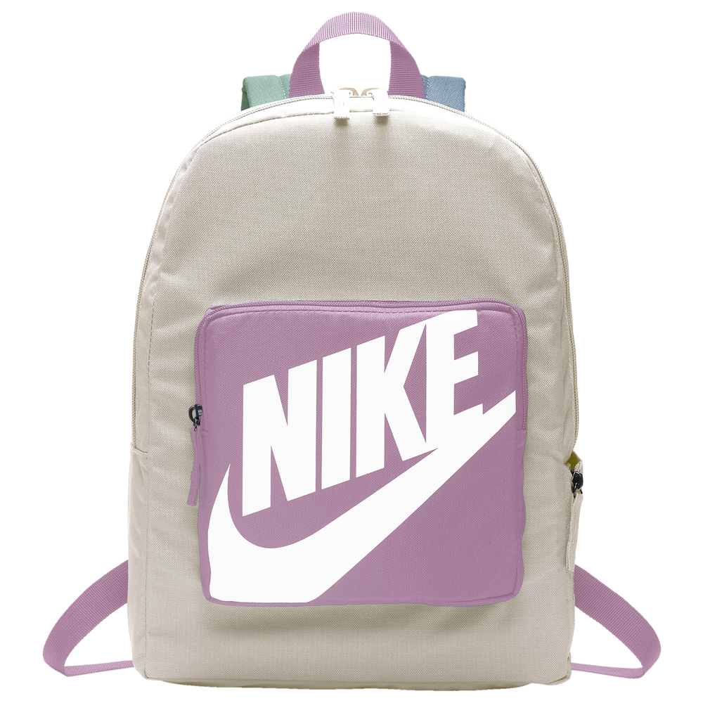 Nike Classic Backpack - Youth / Light Orewood Brown/Magic Flamingo/White