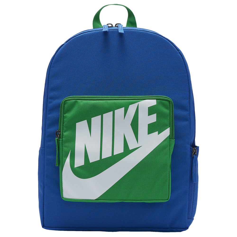 Nike Classic Backpack - Youth / Game Royal/White