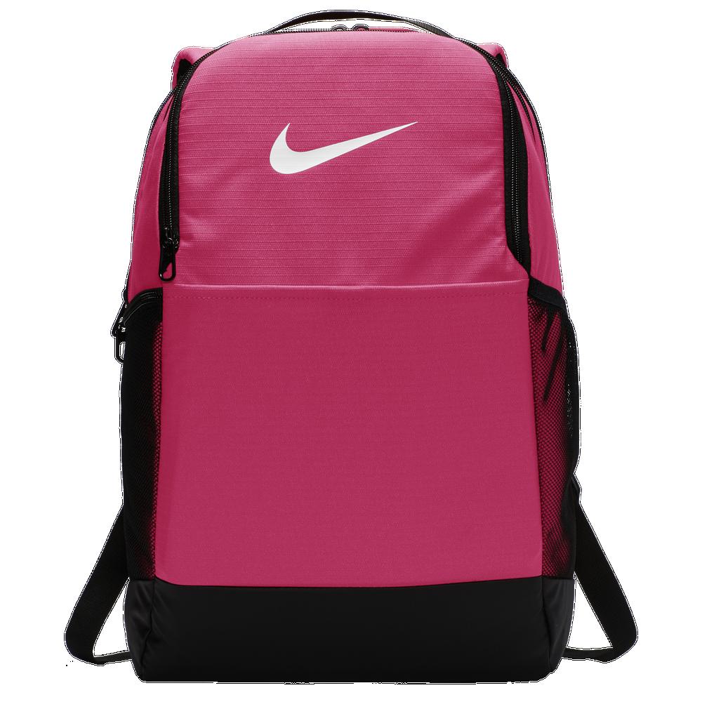 Nike Brasilia Medium Backpack / Rush Pink/Black/White