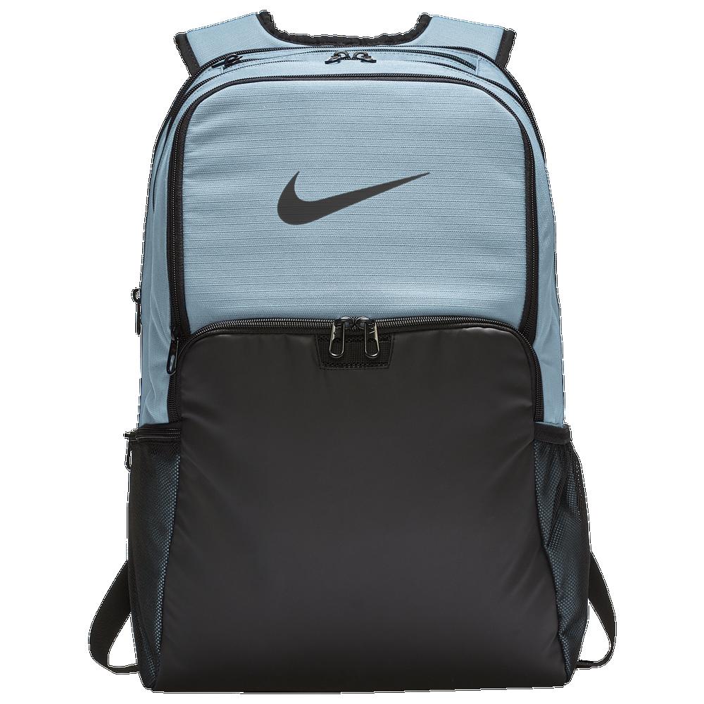 Nike Brasilia X-Large Backpack / Glacier Blue/Black