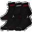 Jordan Legend Ankle 6-Pack Socks - Boys' Grade School