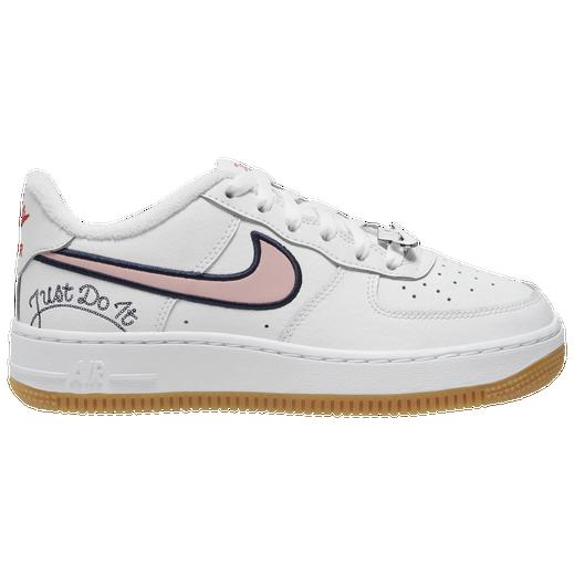 Nike Air Force 1 LV8 - Girls' Grade School - Image 1 of 3 Enlarged Image