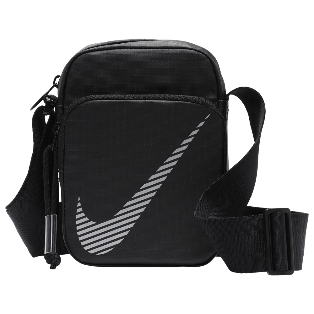 Nike Heritage Winterized Smit 2.0 Bag / Black/Reflective Silver