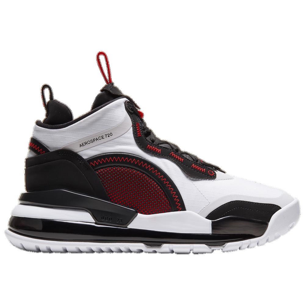 Jordan Aerospace 720 - Mens / White/Gym Red/Black/Vast Grey