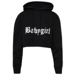 B Simone Fleece Cropped Hoodie - Women's