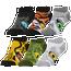 CSG Animal Eye 6 Pack No Show Socks
