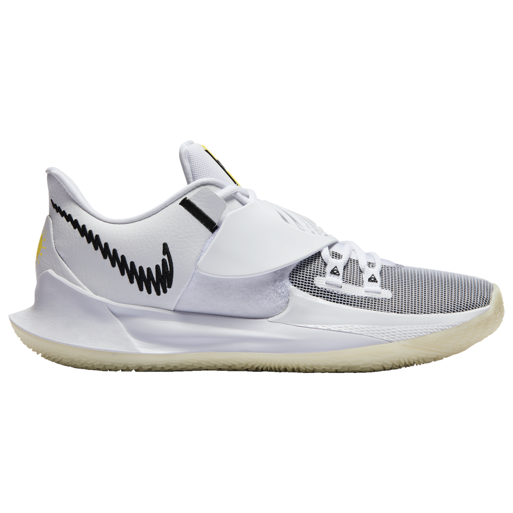 Nike Kyrie Low 3 - Boys Grade School / Kyrie Irving | White/Black