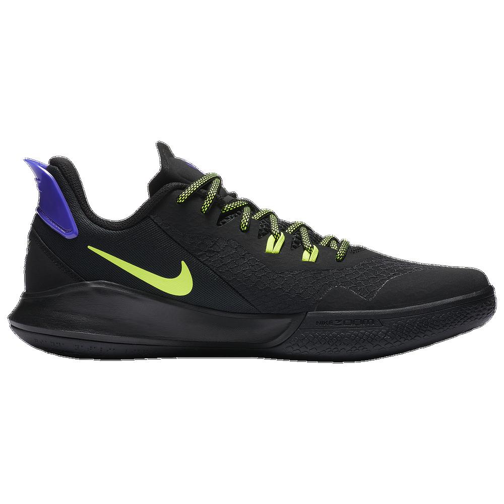 Nike Mamba Fury - Boys Grade School / Black/Lemon Venom/Psychic Purple