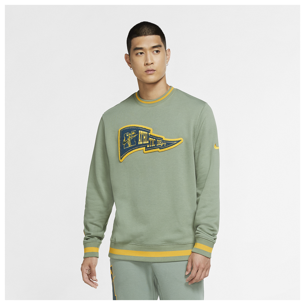 Nike Class of 72 Club Crew - Mens / Spiral Sage